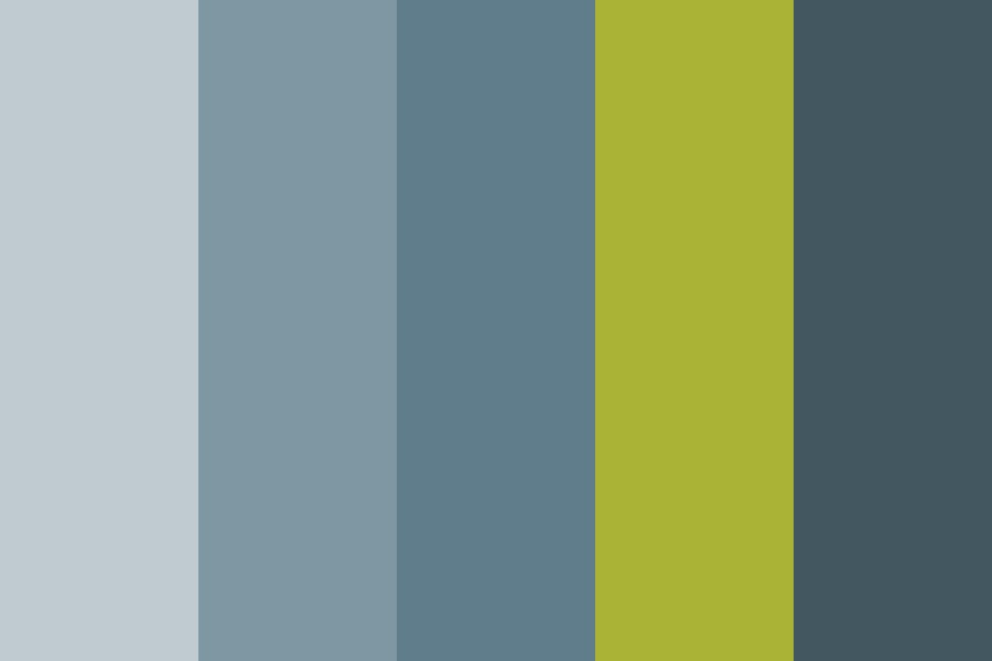C Green Color Palette