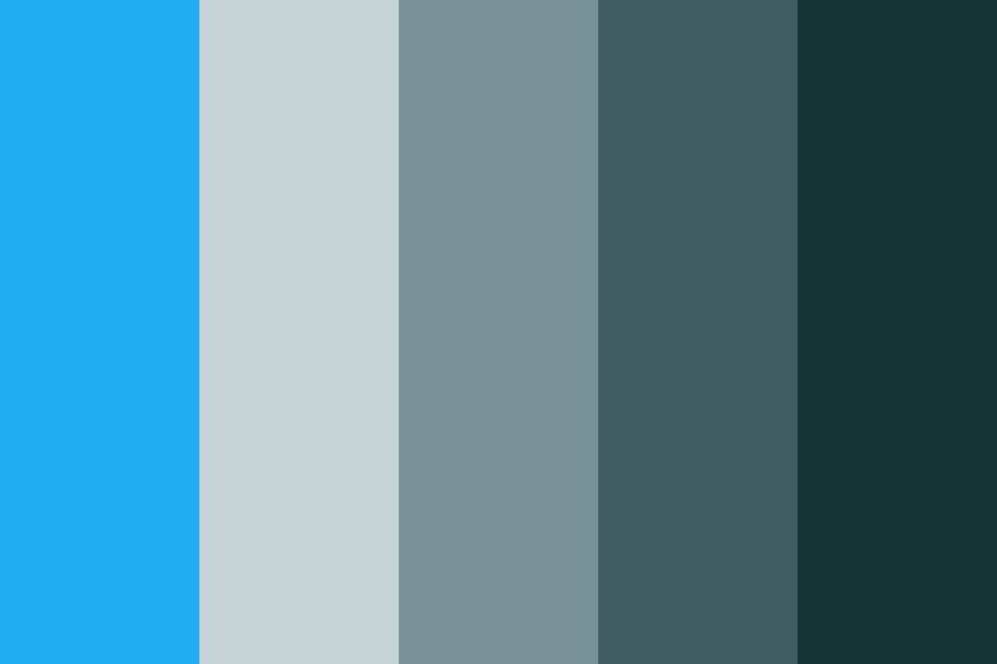 Calcon Greengrays Color Palette