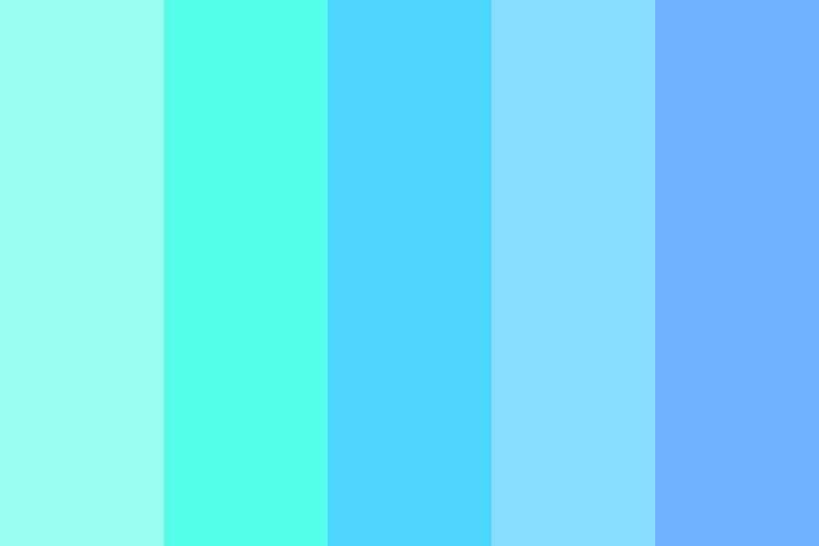 Callmejune   Ocean Notions Color Palette
