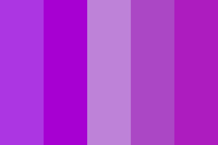 Callmejune   Purple Paradise Color Palette