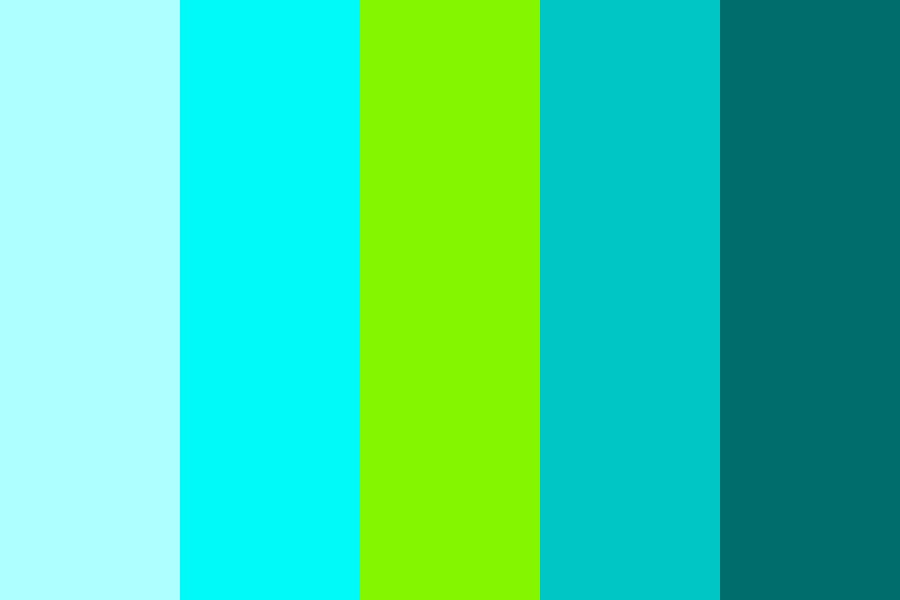 Calm And Cool Color Palette