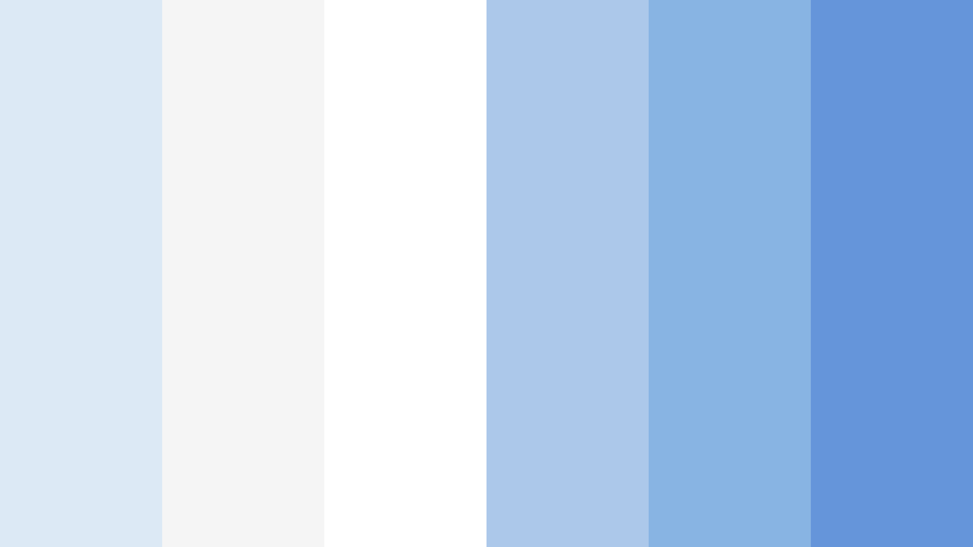 Calming Whites And Blues Color Palette
