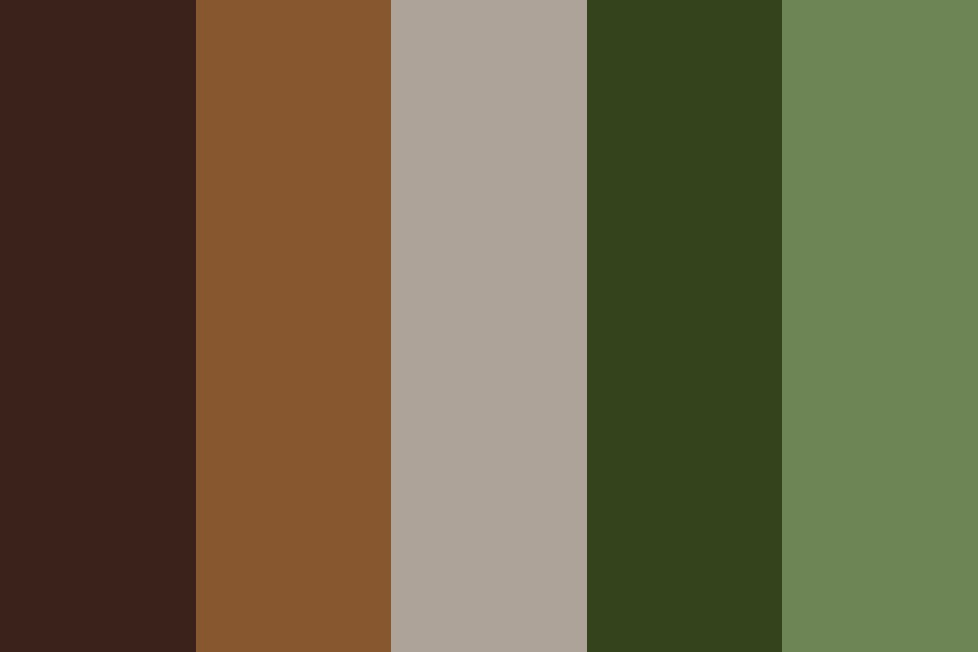 Camo   Midfall Color Palette
