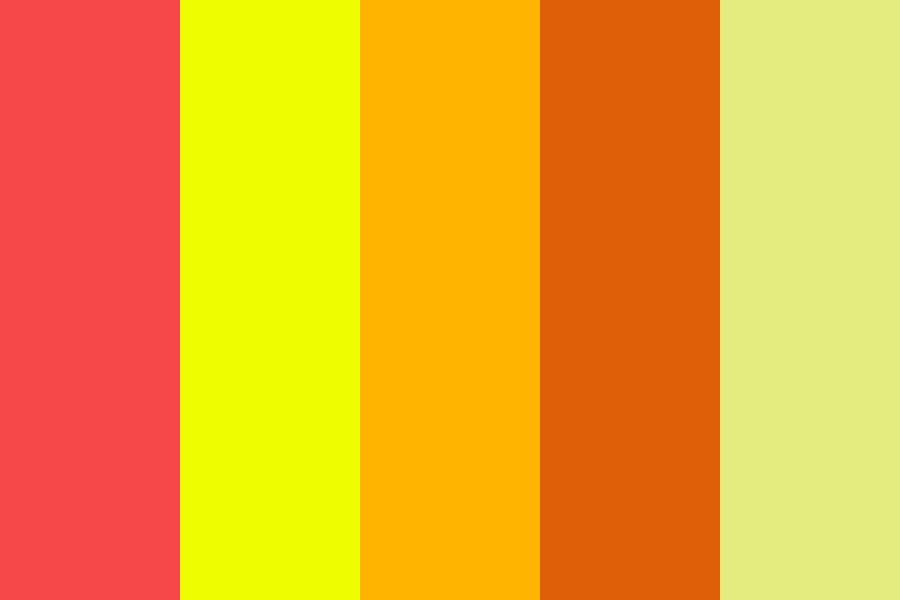Camp Fire Color Palette