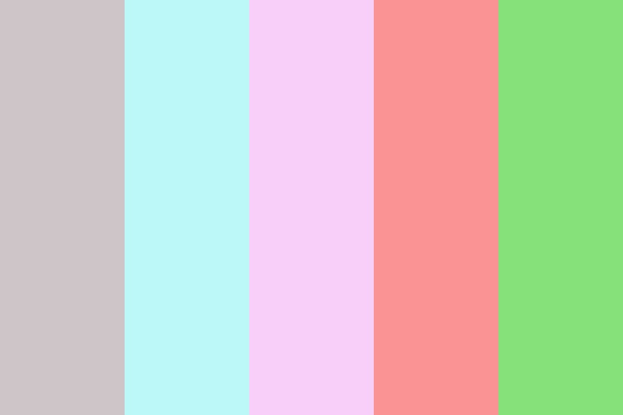 Candy Forest Color Palette