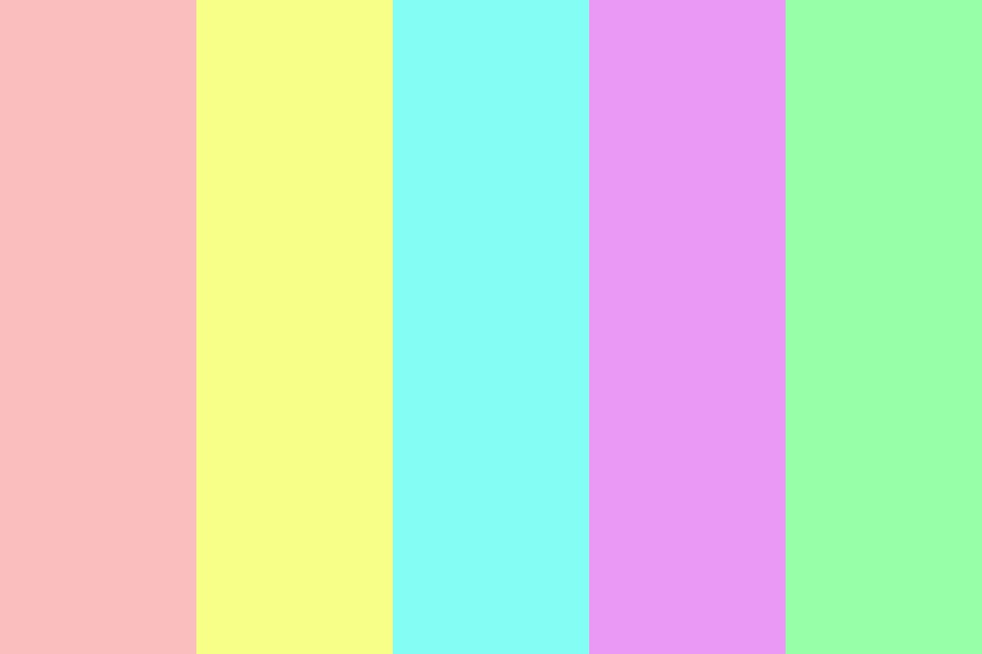 Candy Pastels Color Palette