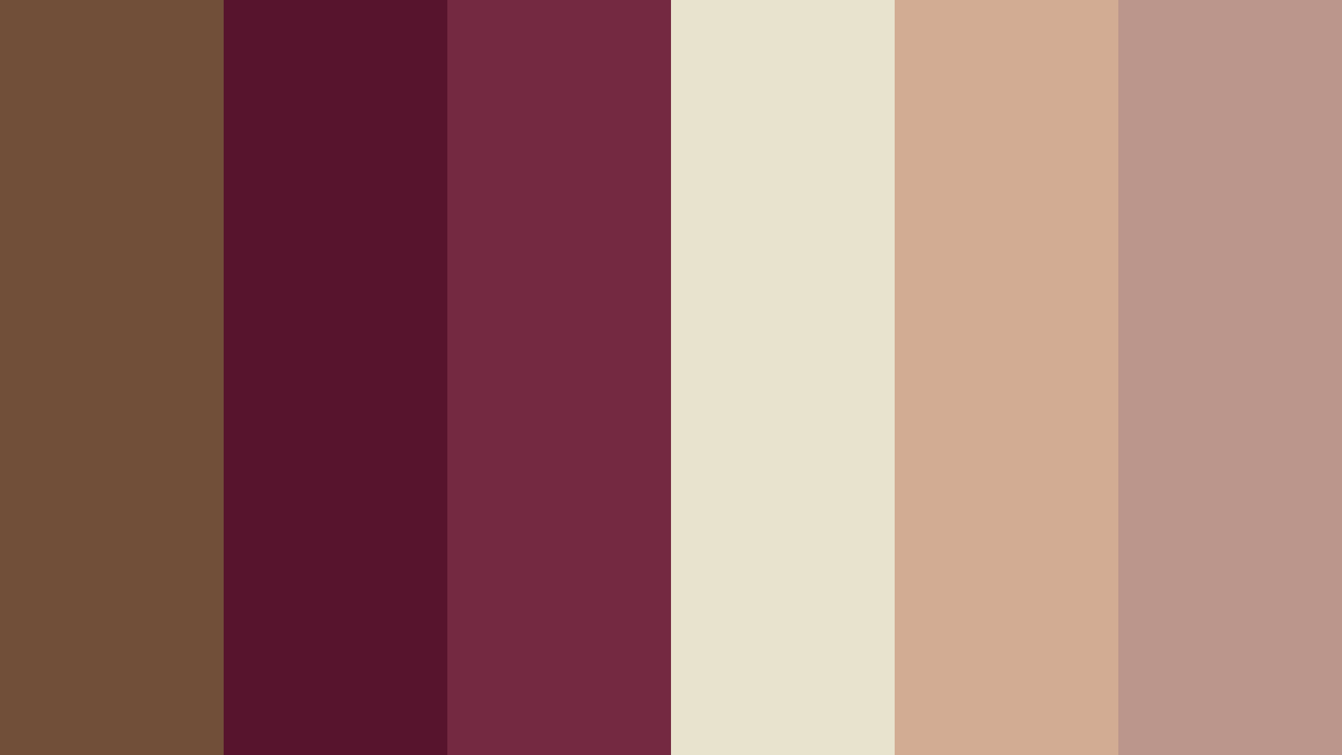 Cappuccino Wedding Color Palette