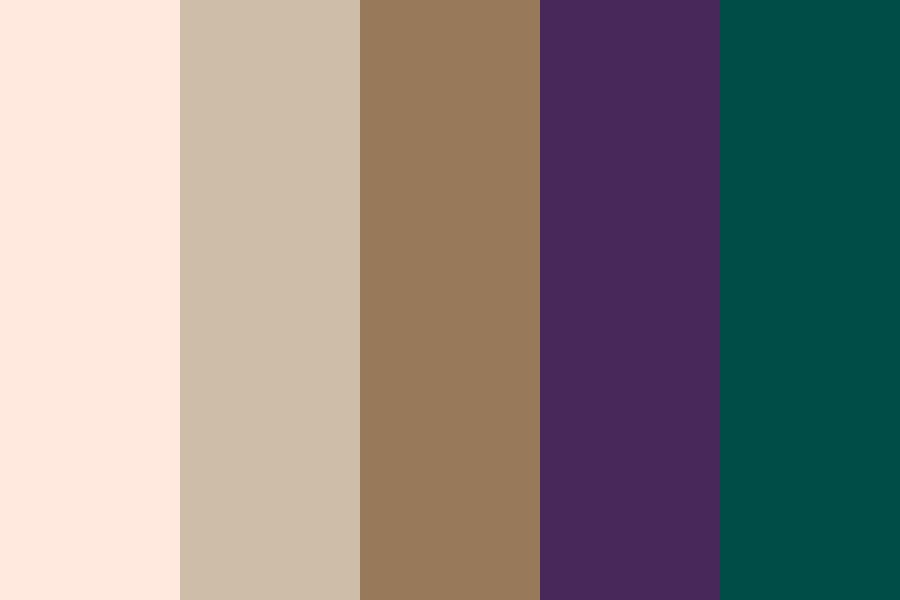 Capricorn Sun Sign Color Palette