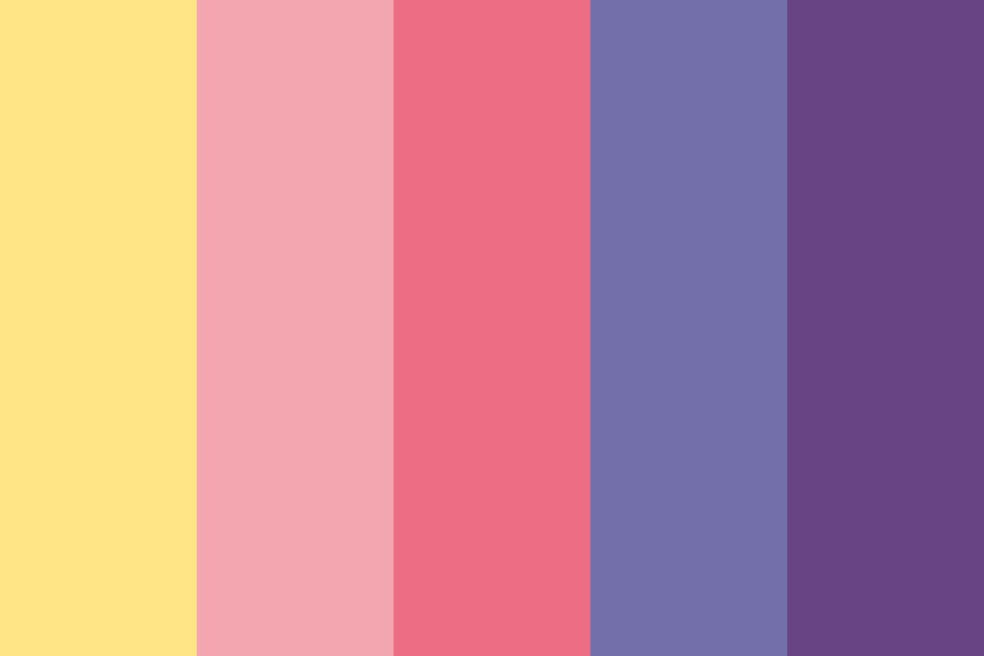 Cartoon Love Color Palette