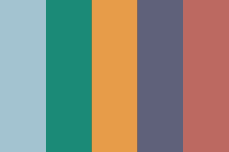 Cartoons On Mute Color Palette