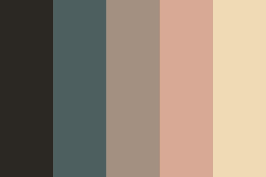 Champagne At Midnight Color Palette