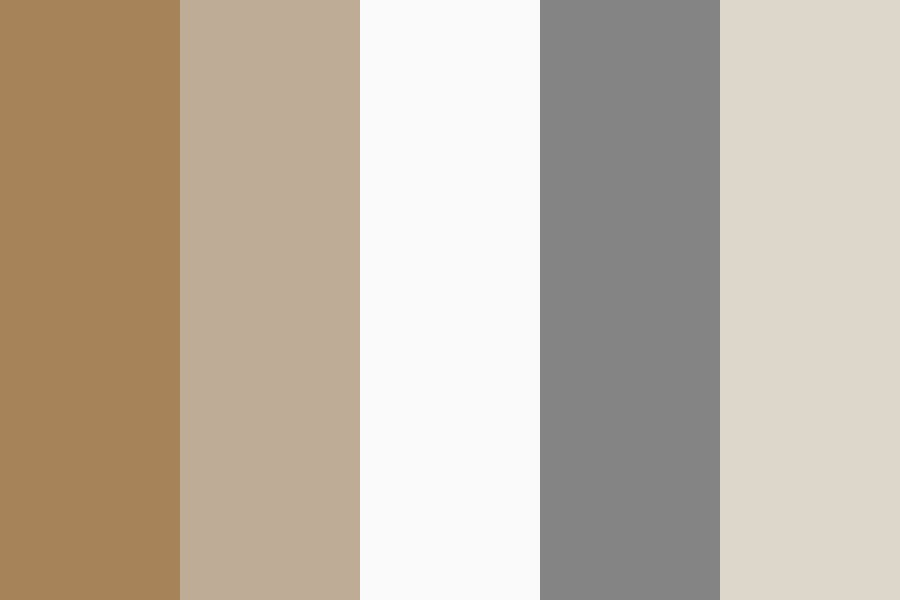 Champagne Golden South Sea Pearls Color Palette