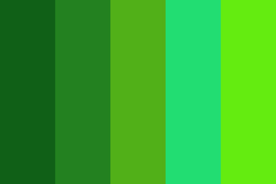 Chariegreen Color Palette