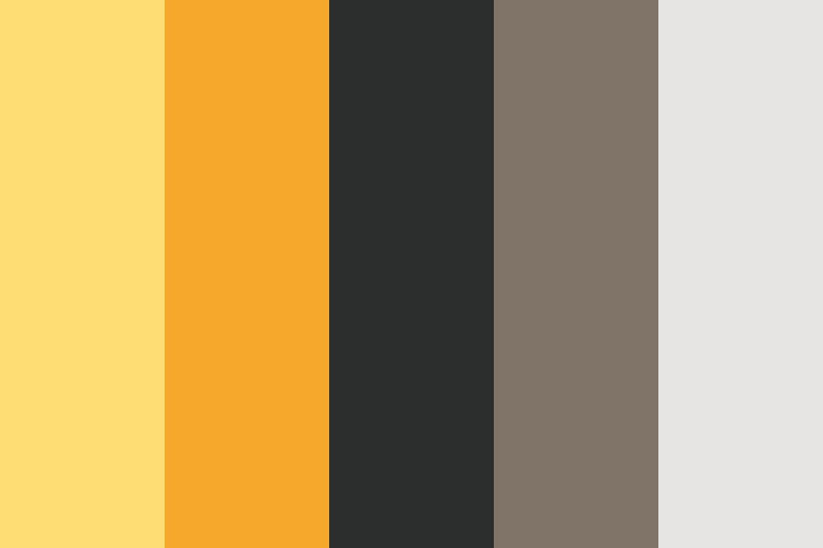 Cheesecake And Coffee Color Palette