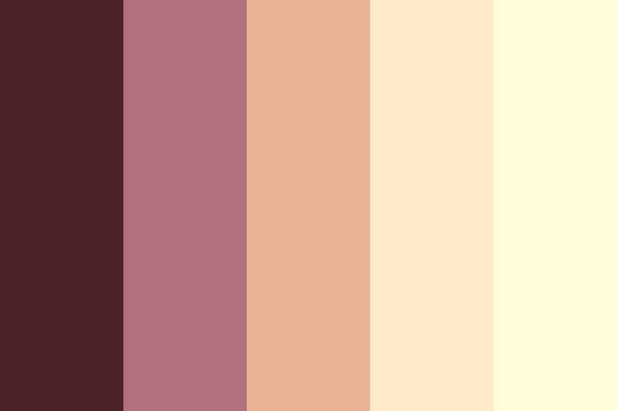 Cherry Cream Cheese Cheesecake Color Palette