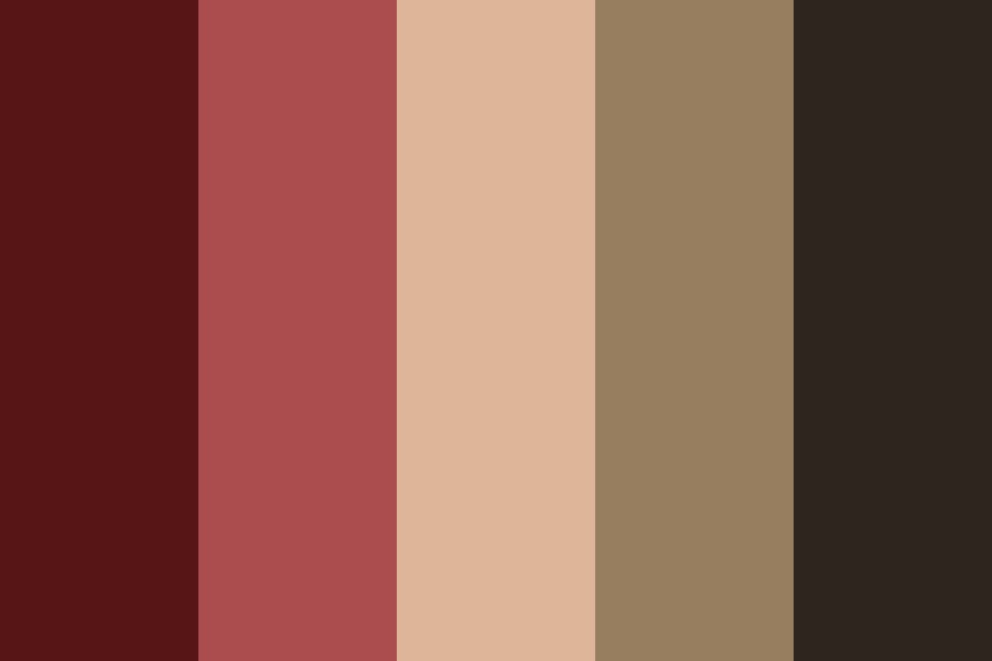 Cherry Night Color Palette