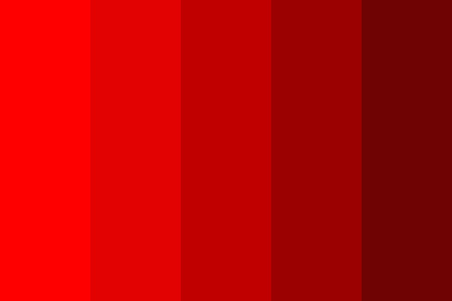 Cherry Red Color Palette