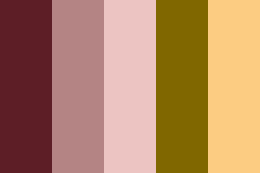 Cherry Tree Lane Color Palette