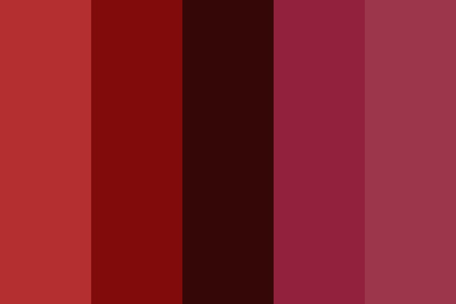 Chew On The Red Pills Color Palette