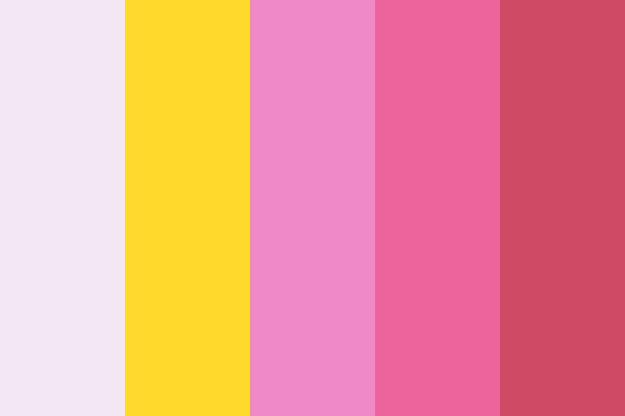 Chibiusa Pink Moon Rod Color Palette