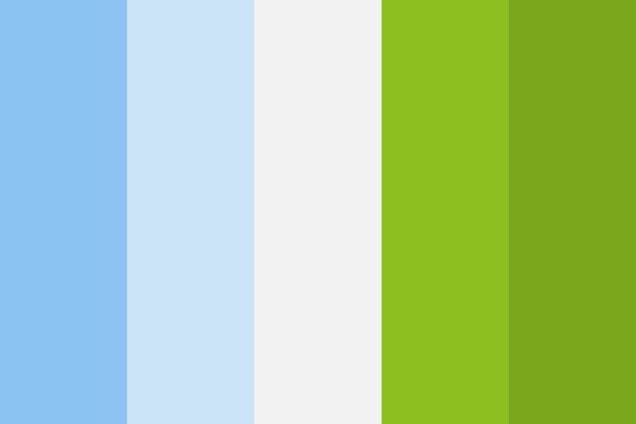 Chilled Summer Color Palette