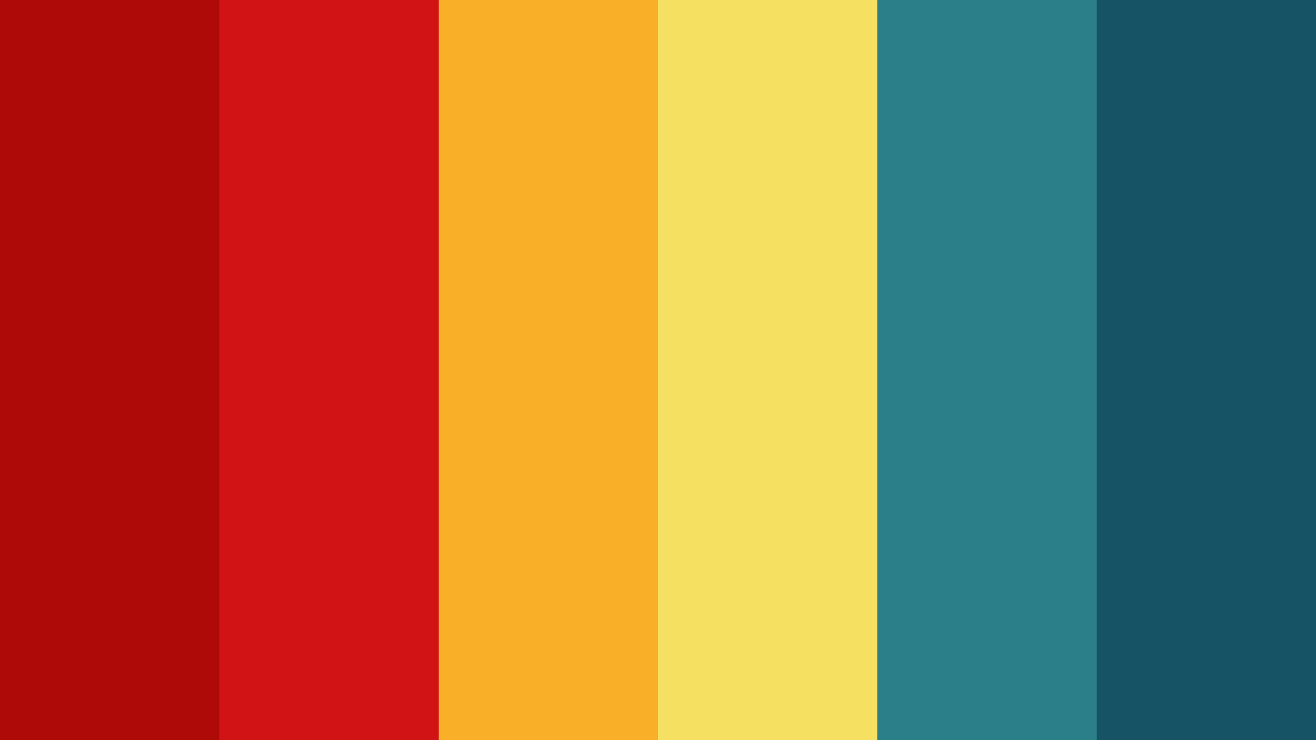 Chinese Dragon Color Palette