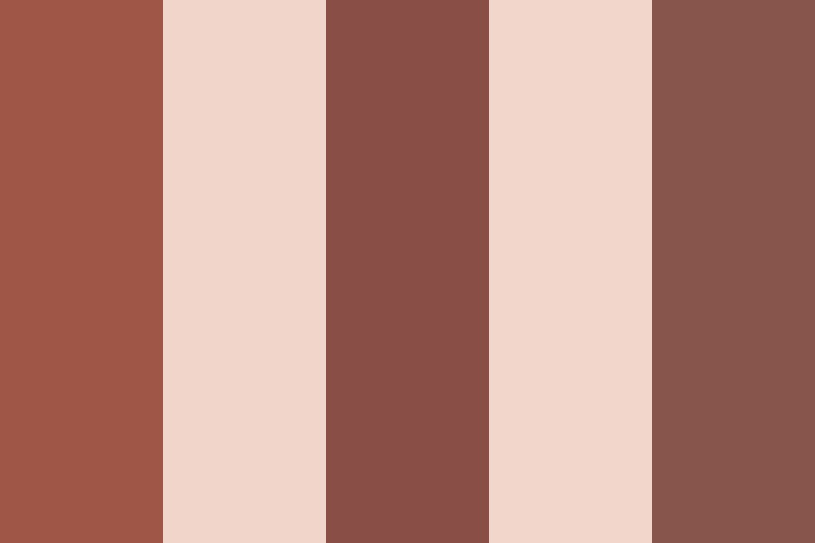 Chocolate And Cream Color Palette