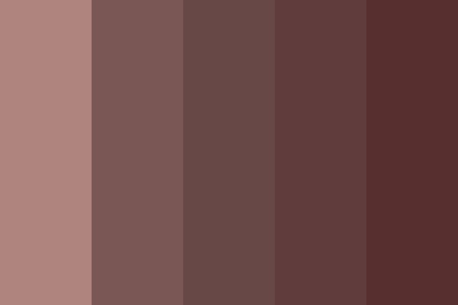 Chocolate Covered Cherries Color Palette