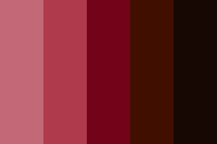 Chocolate Covered Strawberries Color Palette