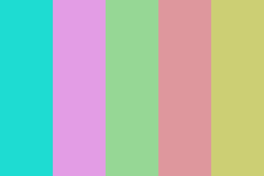 Choose Your Ice Cream Color Palette