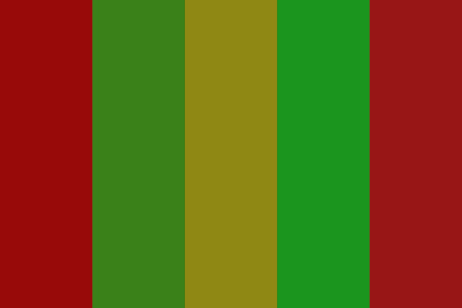 Christmas Elf Color Palette
