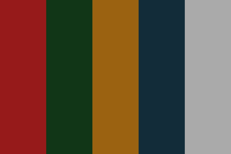 Christmasberrypie Color Palette