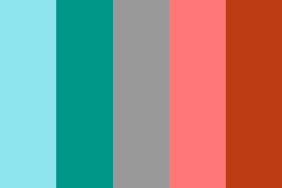 Christmasy Colors Color Palette