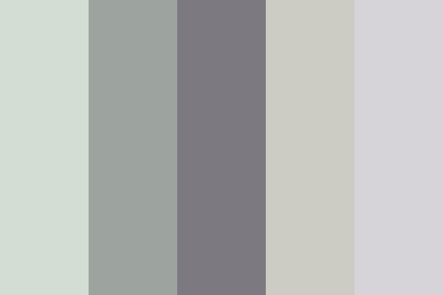 Claming Grey purple Color Palette