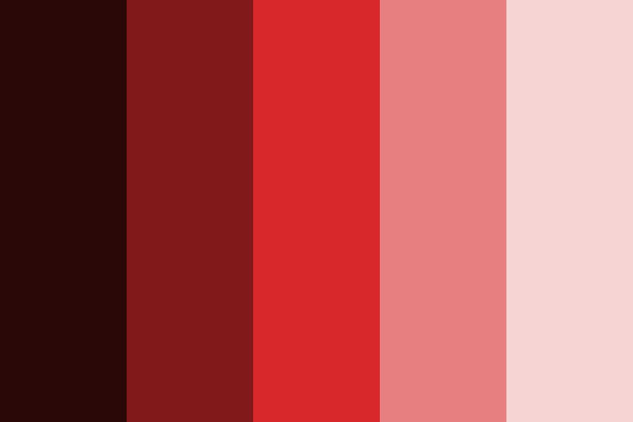 Clark Electrical   Red Color Palette