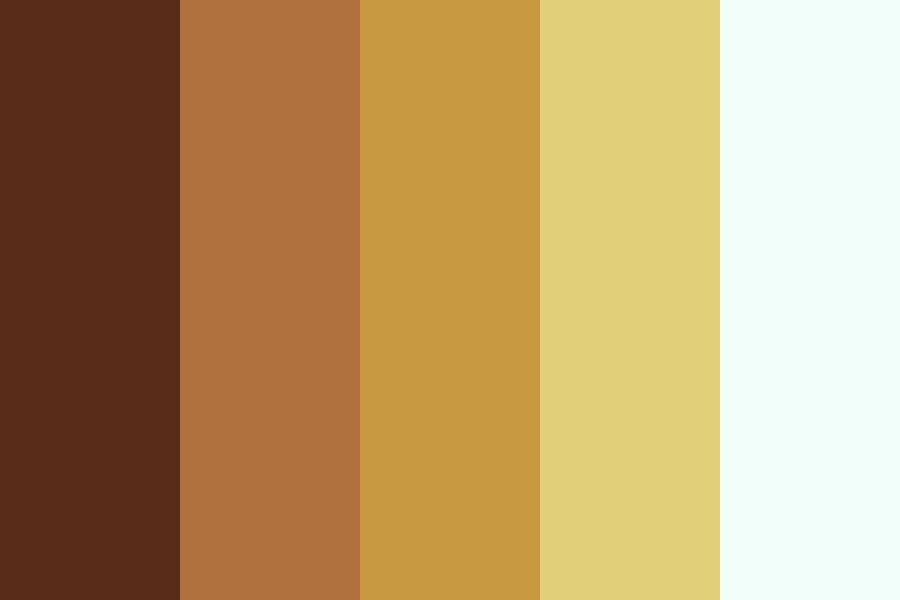 Clash Between Coffee And Tea Color Palette