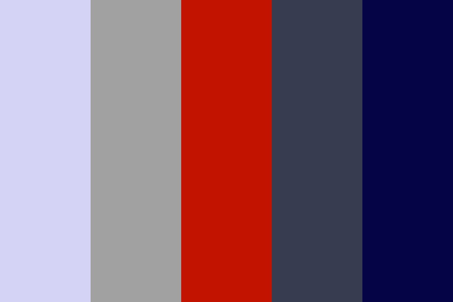 Classed up Red Color Palette