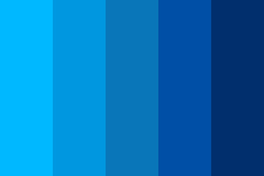 Clearly Blue Color Palette