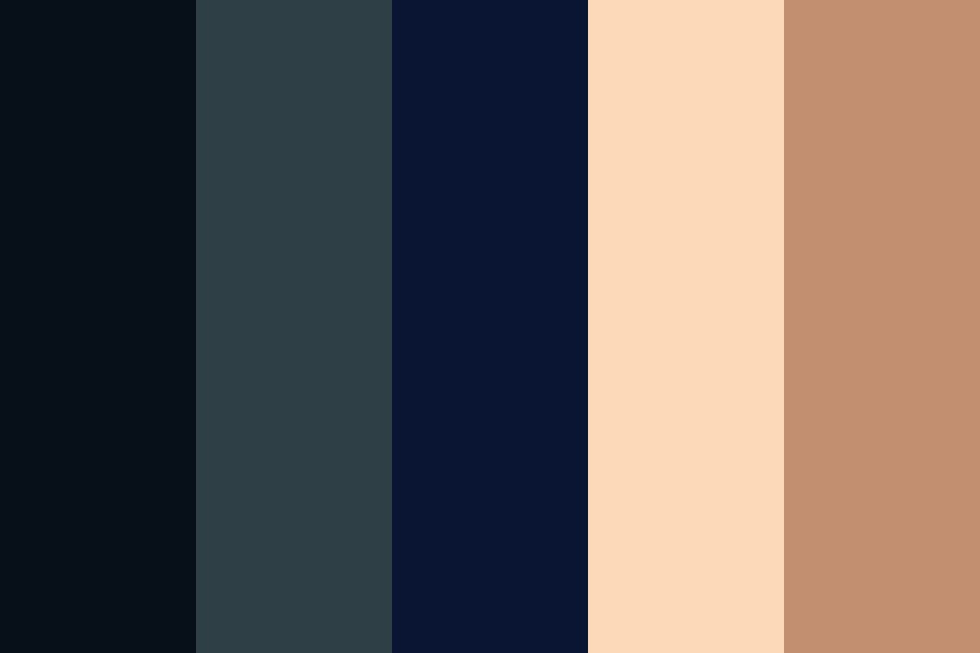 Clouds And Moon Color Palette