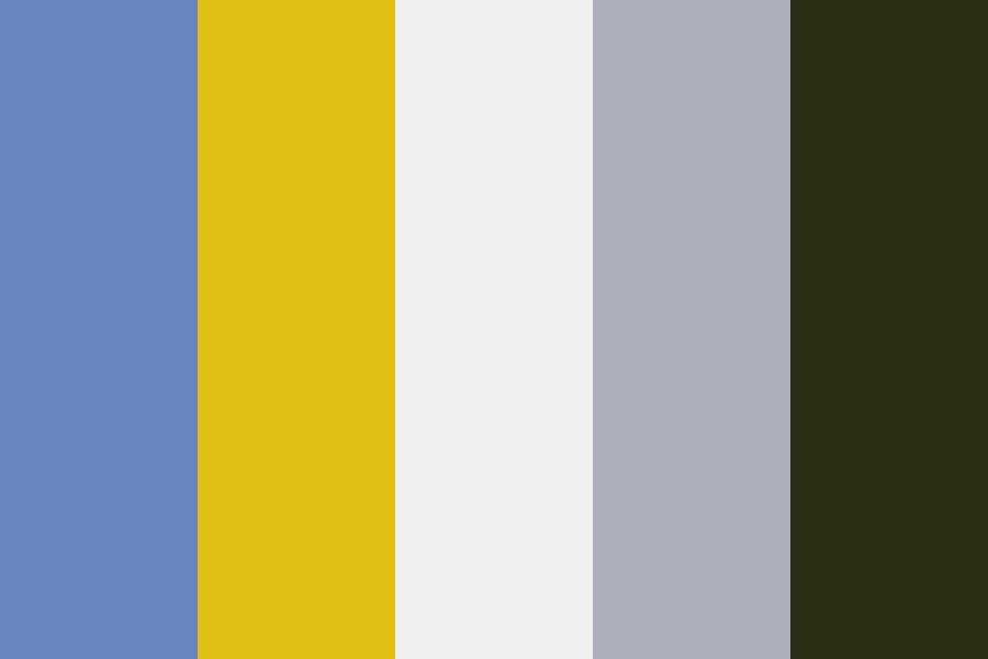Cloudy Sky Over Ragweed Color Palette