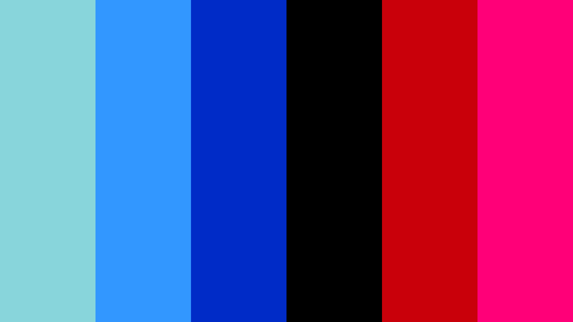 Club Blue Color Palette