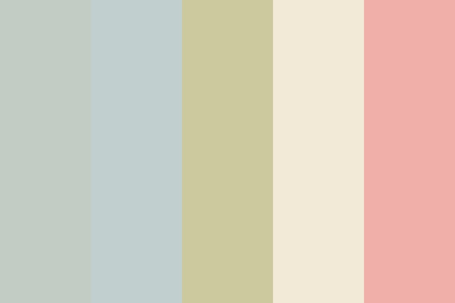 Coastal And Coral Color Palette