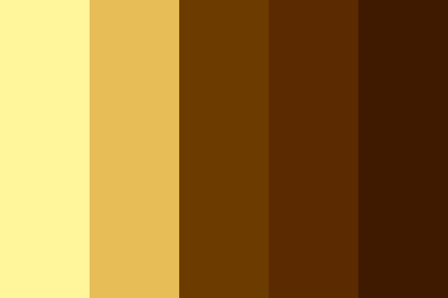 Coffee And Cream Color Palette