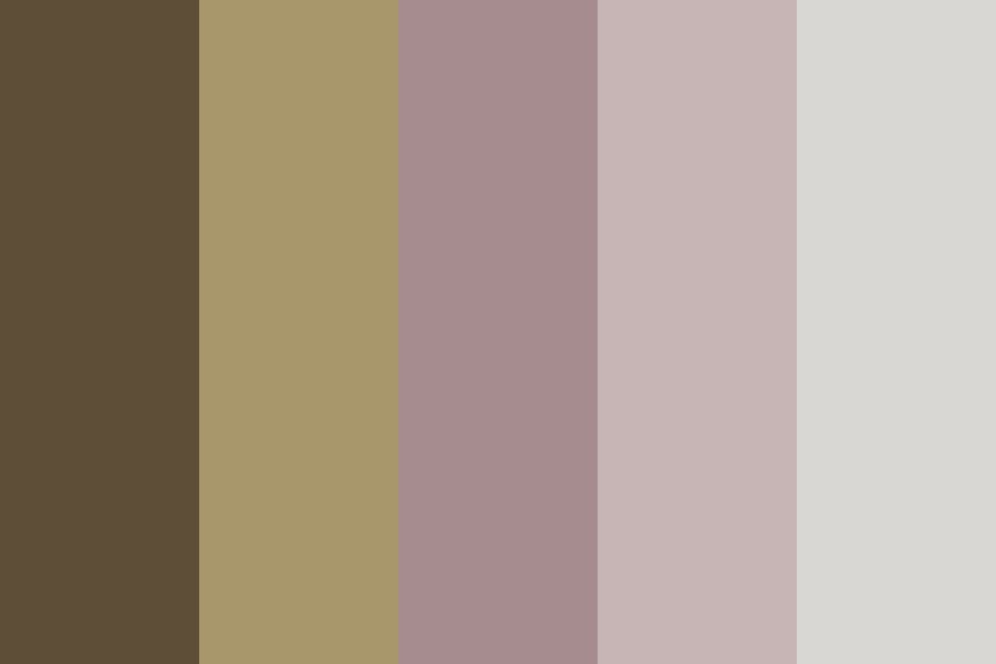 Coffee And Roses Color Palette