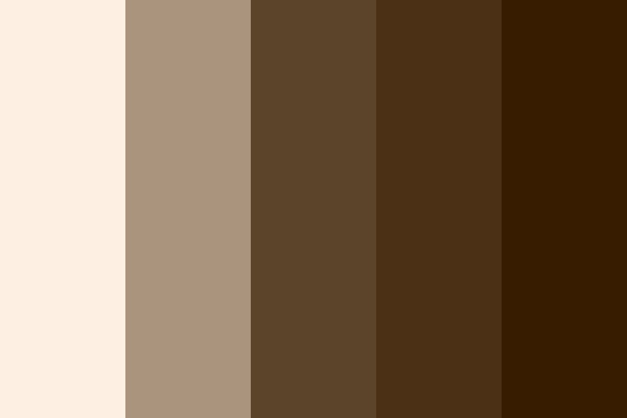 Coffee At Midnight Color Palette