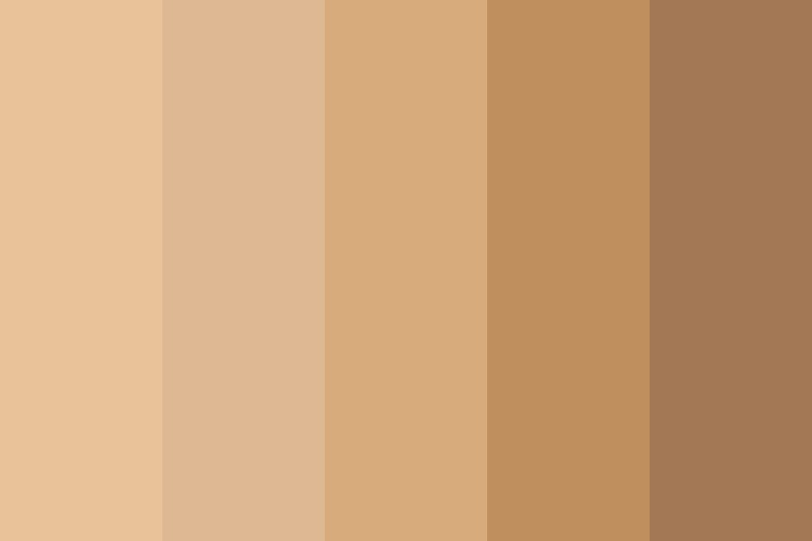 Coffee At Noon Color Palette