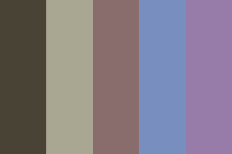 Coffee Bean Color Palette