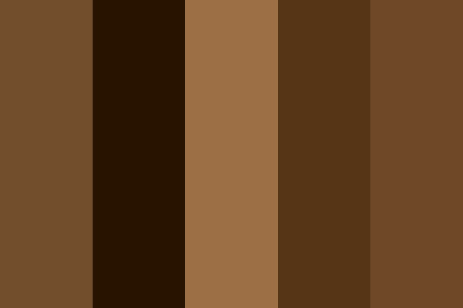 Coffee Brown Color Palette