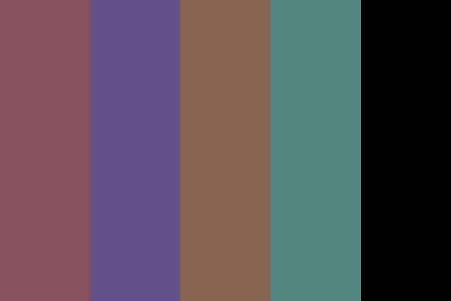 Coffee Cup Color Palette