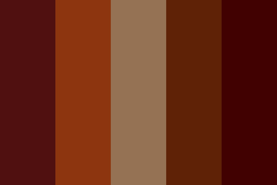 Coffee On The Go Color Palette